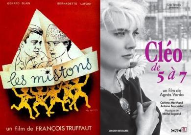 Affiches des films Les miston & Cléo de 5 à 7